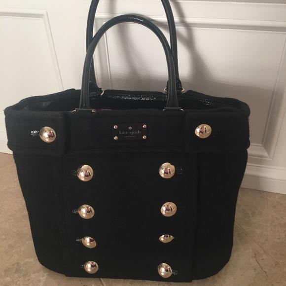 9bfe01649 kate spade Handbags - Kate Spade Fox Chapel Shar Black Tote Bag